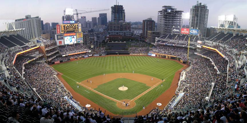 San Diegas, Padres beisbolo aikštė
